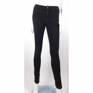 Rag & Bone Black Plush Legging Jeans Skinny Slim